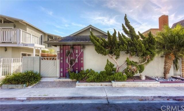 Maison unifamiliale pour l Vente à 242 Colton Street 242 Colton Street Newport Beach, Californie,92663 États-Unis