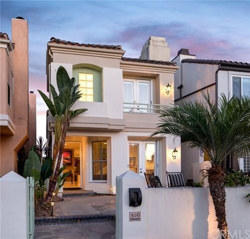 Eensgezinswoning voor Verkoop een t 506 21st Street Huntington Beach, Californië,92648 Verenigde Staten