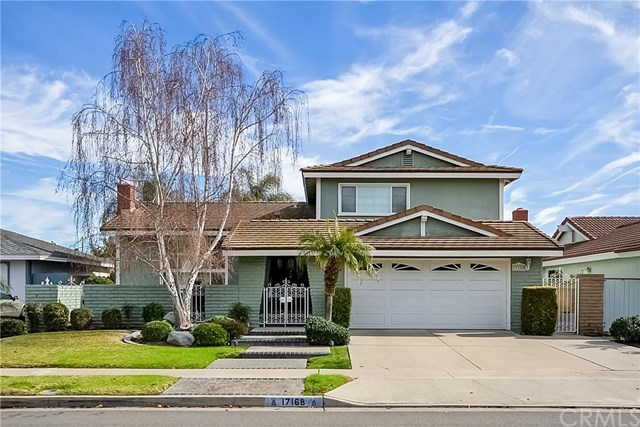 Single Family for Sale at 17168 Buttonwood Street Fountain Valley, California 92708 United States