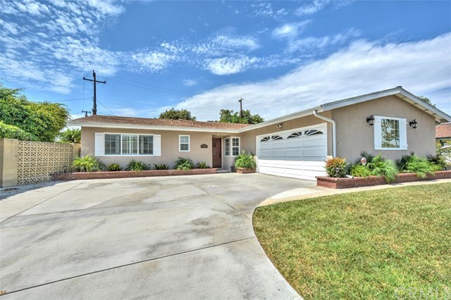 Single Family for Sale at 12311 Bailey Street Garden Grove, California 92845 United States