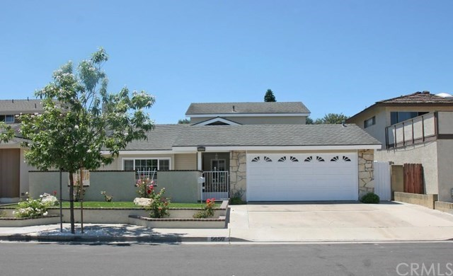 Single Family for Sale at 5650 Aspen Street Cypress, California 90630 United States