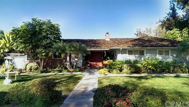 Single Family for Sale at 1418 Richman Knolls Avenue Fullerton, California 92835 United States