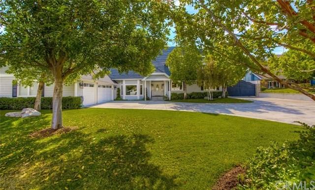 Casa Unifamiliar por un Venta en 19215 Palm Vista 19215 Palm Vista Yorba Linda, California,92886 Estados Unidos